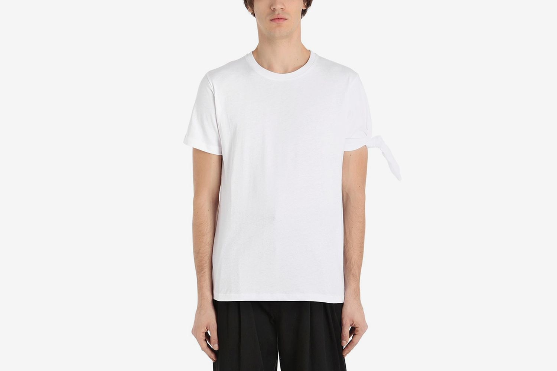 Single Knot Cotton Jersey T-shirt