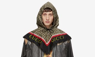 Channel Your Inner Babushka With These A$AP Rocky-Approved Gucci Hoods