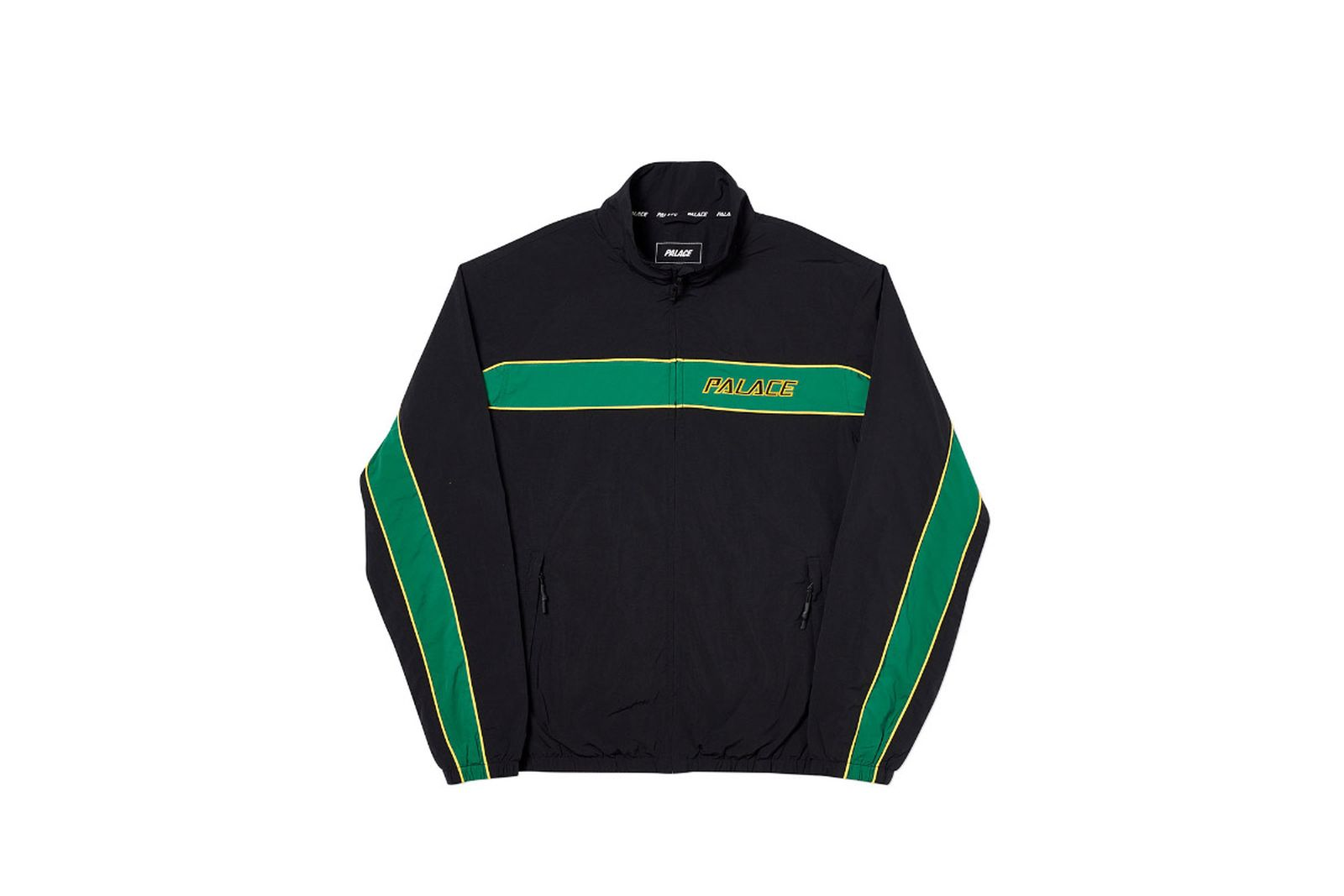 Palace 2019 Autumn Shell Racer Black Front