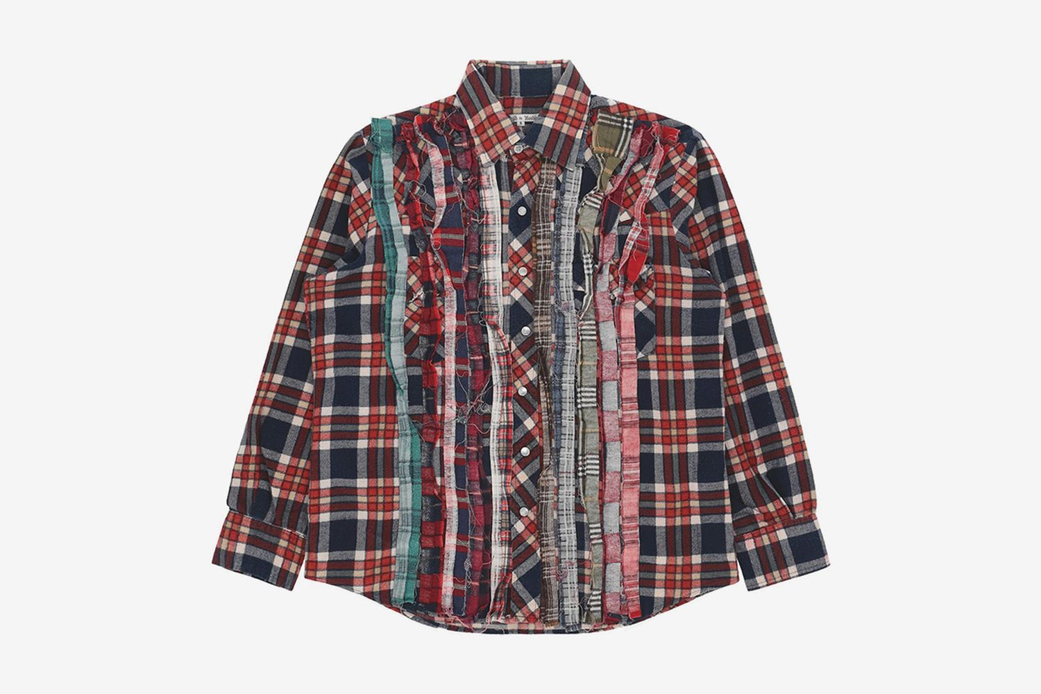 Ribbon Flannel Shirt