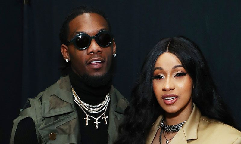 Cardi B Walked in Offset's PFW Debut Show
