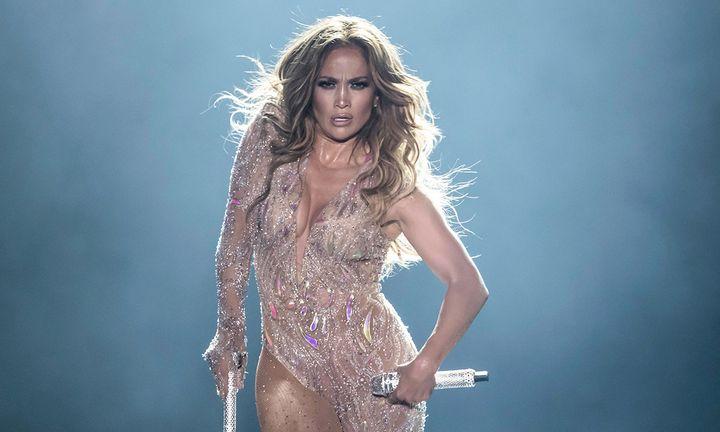 Jennifer Lopez performance