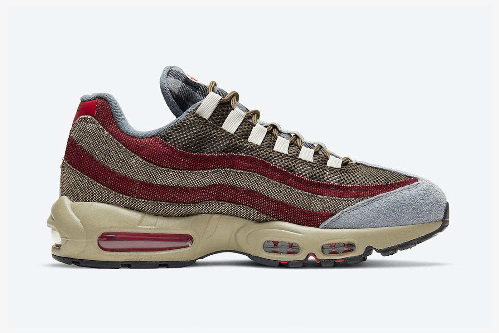 Nike Air Max 95 Freddy Krueger product shots