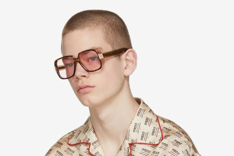 Oversized Cruise Square Sunglasses