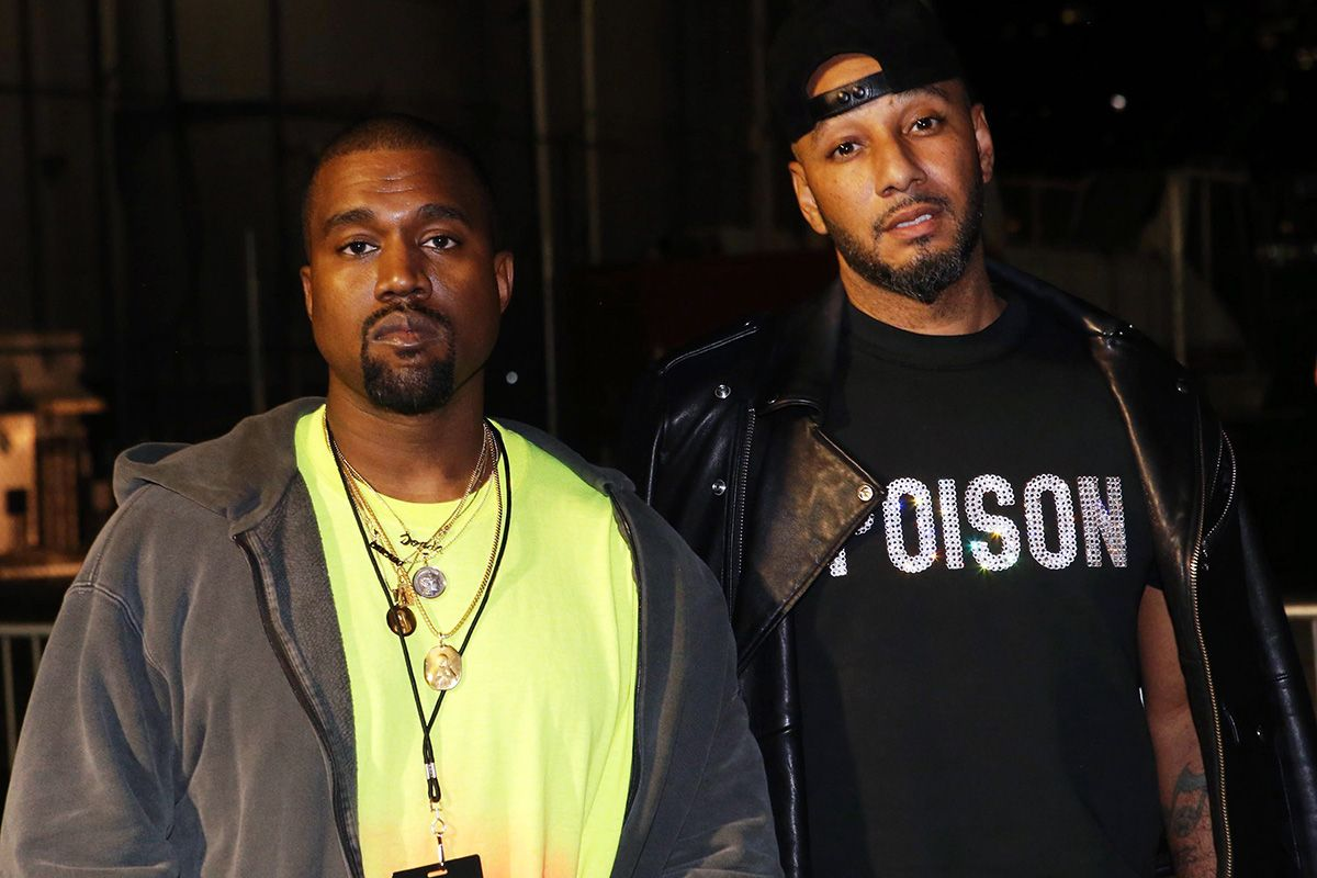 Kanye West and swizz beatz