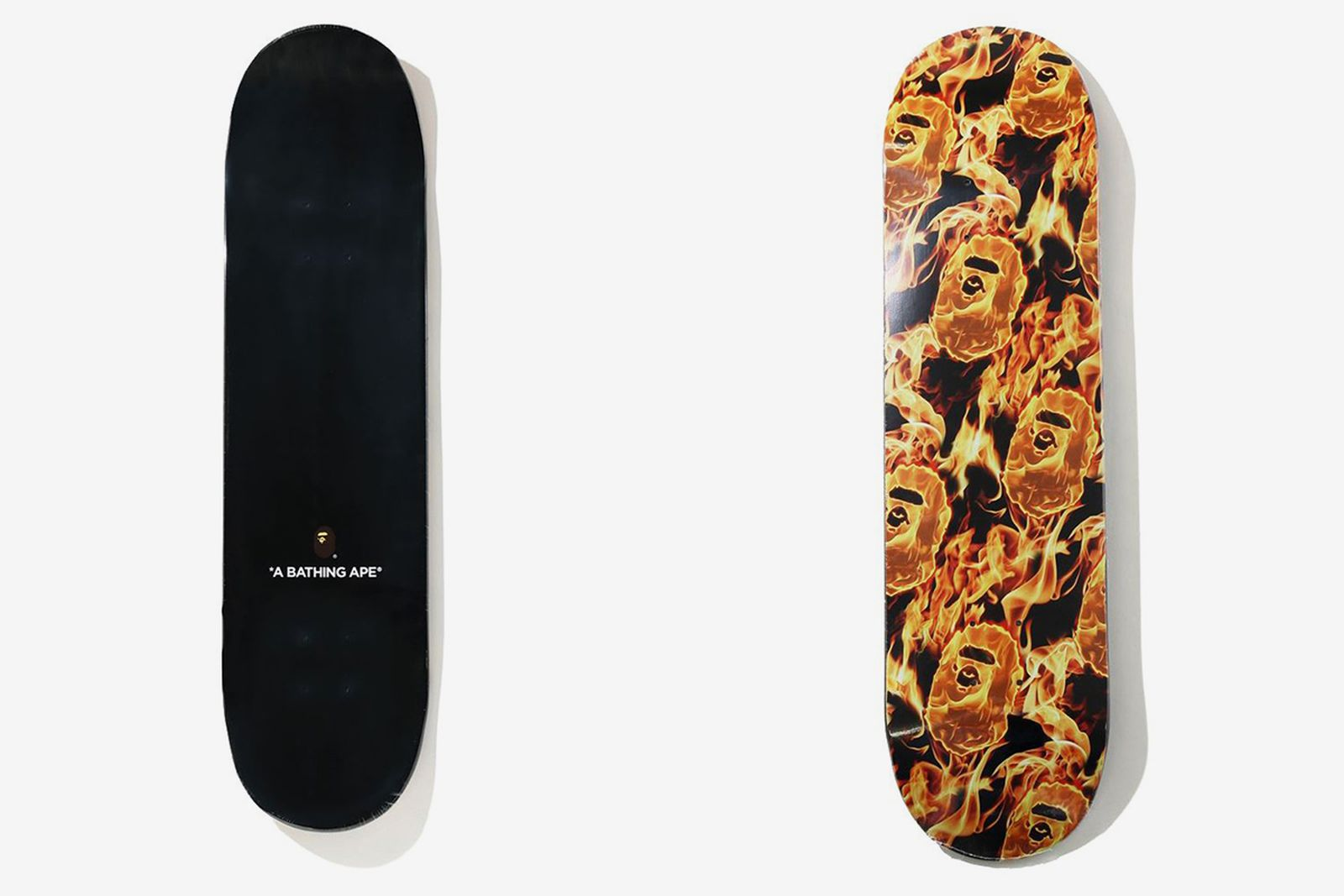 BAPE FLAME Skate Deck