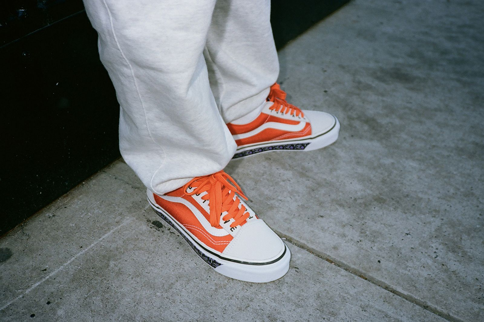 Patta x Vans Old Skool orange