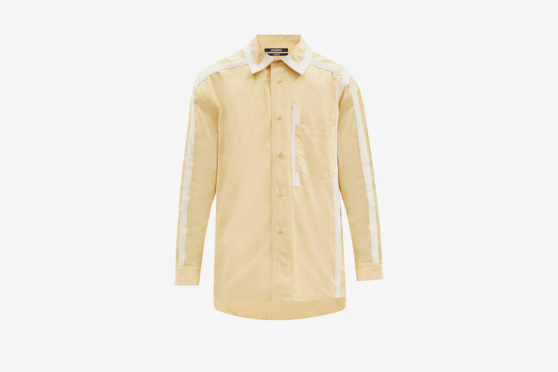 Grosgrain-Taped Shirt