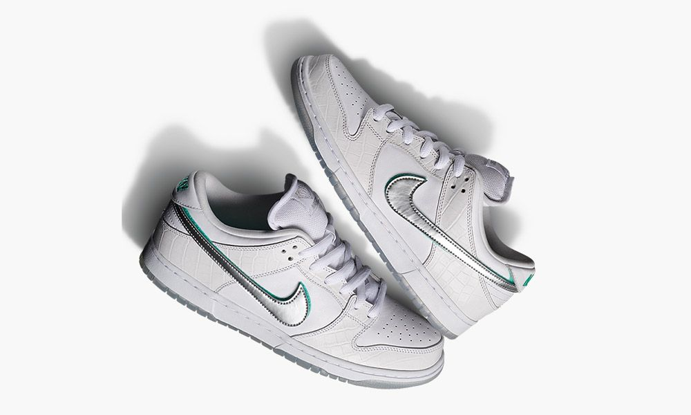 """online store dd5fc c2f85 Pairs From the New Nike SB """"Diamond"""" Dunk Collection Drop Today"""