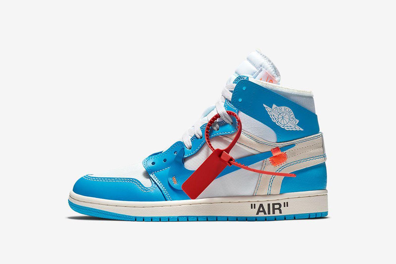 jordan 1 blue GOAT Nike The Ten OFF-WHITE c/o Virgil Abloh