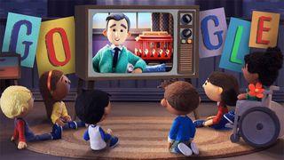 mr rogers google doodle tribute Mister Rogers' Neighborhood Mr. Rogers
