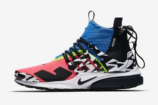 purchase cheap a0d63 d783e ACRONYMs Nike Air Presto Mid Returns in a Colorful Makeover