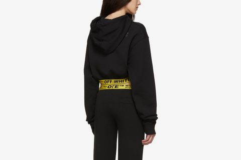 WORKOUT Cropped Sport Hoodie