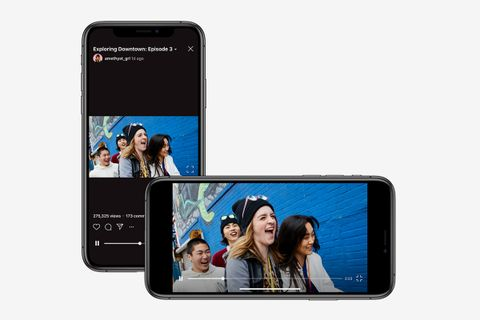Instagram IGTV takes on YouTube offering landscape video format
