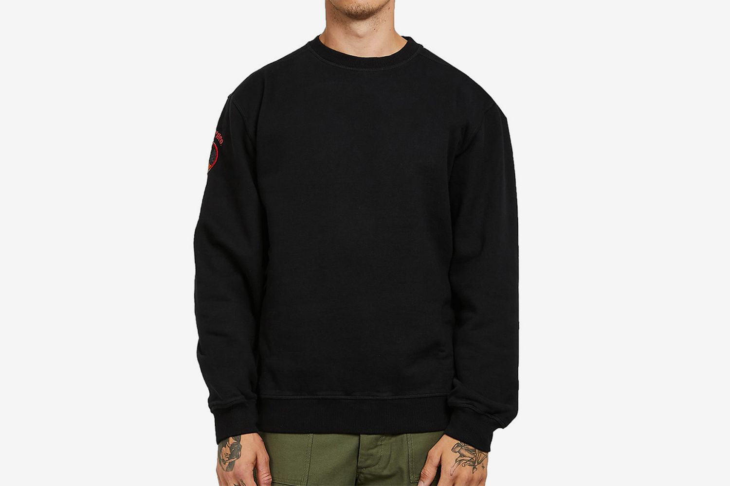 Vintage Panther Patch Sweater