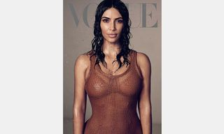 Kim Kardashian Says She's Studying Law in Vogue Cover Story