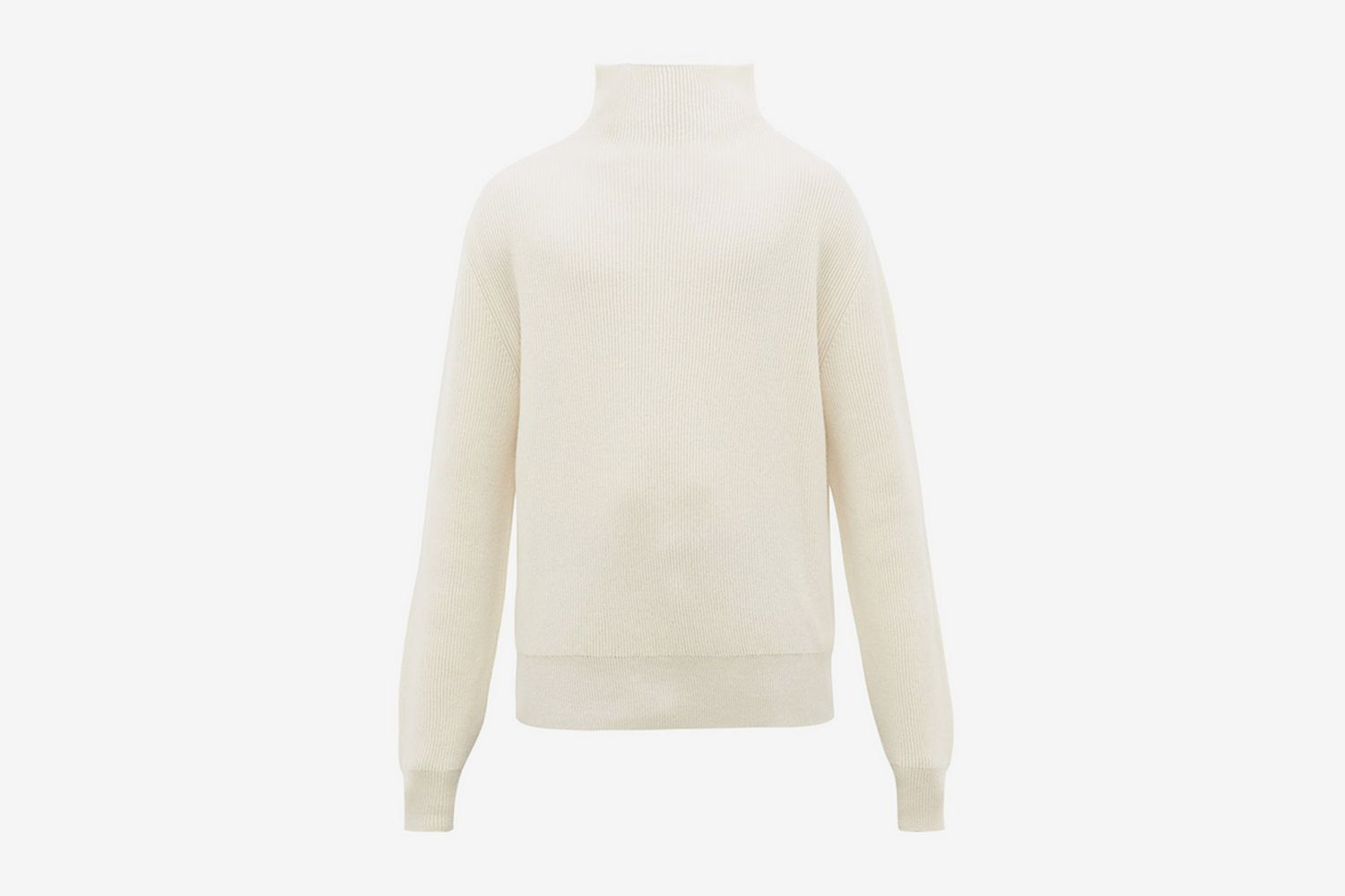 Daniel Roll-Neck Ribbed Cashmere Sweater