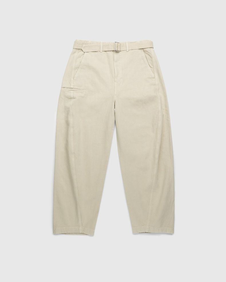 Lemaire – Rinsed Denim Twisted Pants Saltpeter