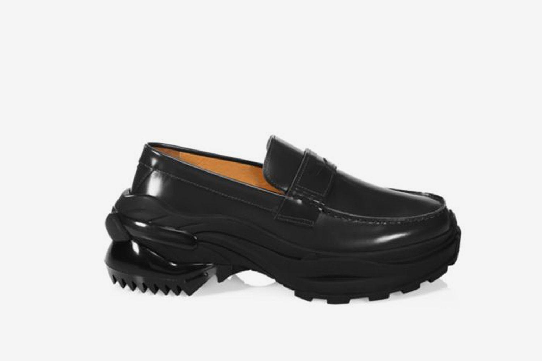 Chunky Cross Loafers