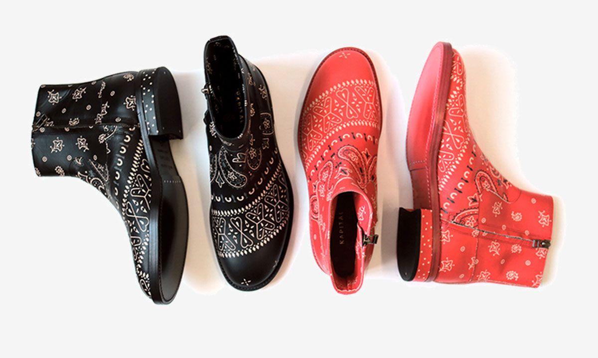 Kapital's New Paisley-Print Chelsea Boots Will Upgrade Your Daily Bandana Flex