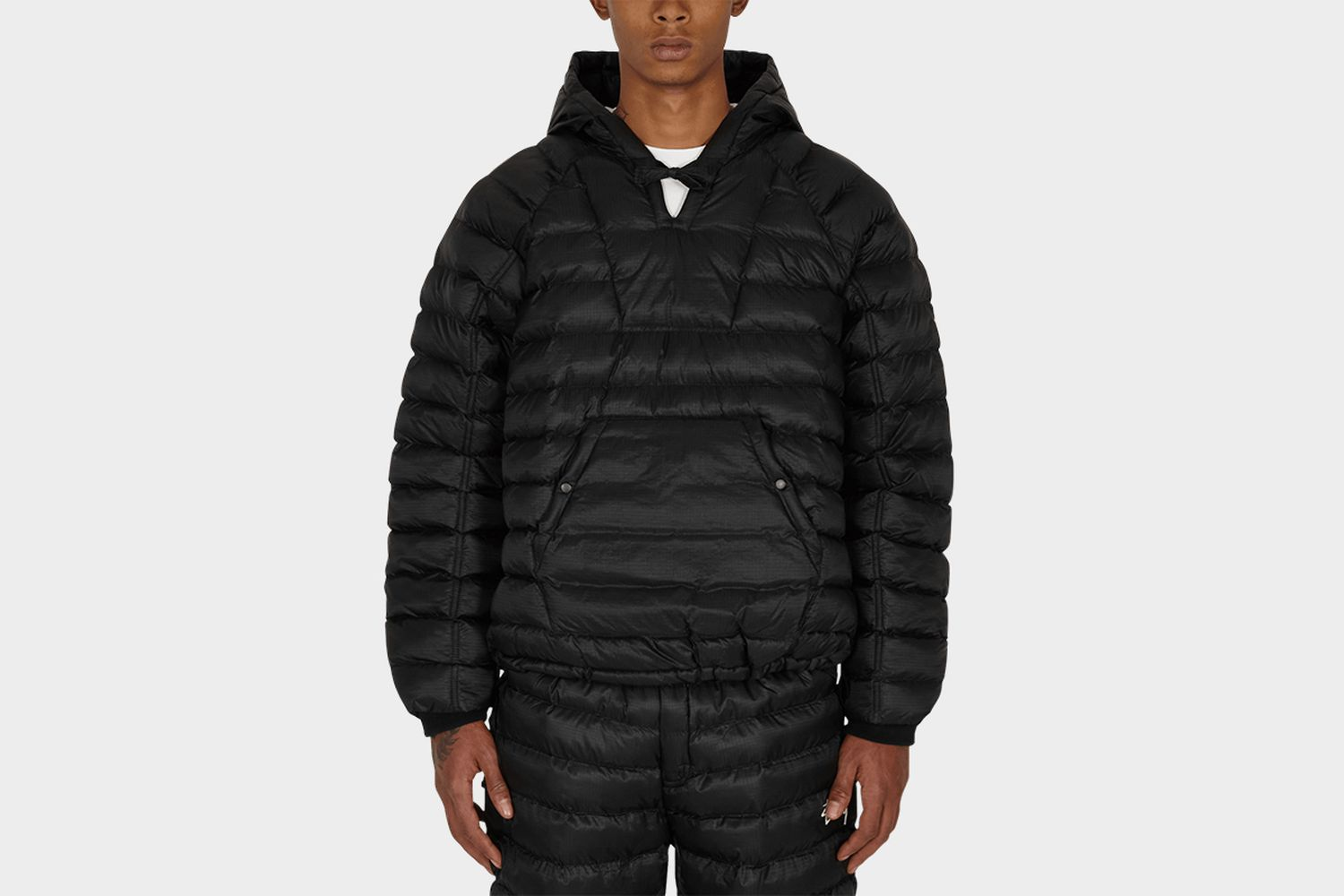 Insulated Pullover Puffer Jacket