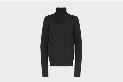 Cutout Cashmere Sweater