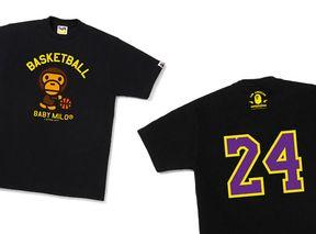 8e6a5ed3d BAPE® Basketball T-Shirt - BAPE STORE® Los Angeles Exclusive | Highsnobiety