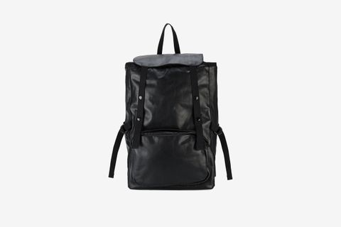 Volume Leather Backpack