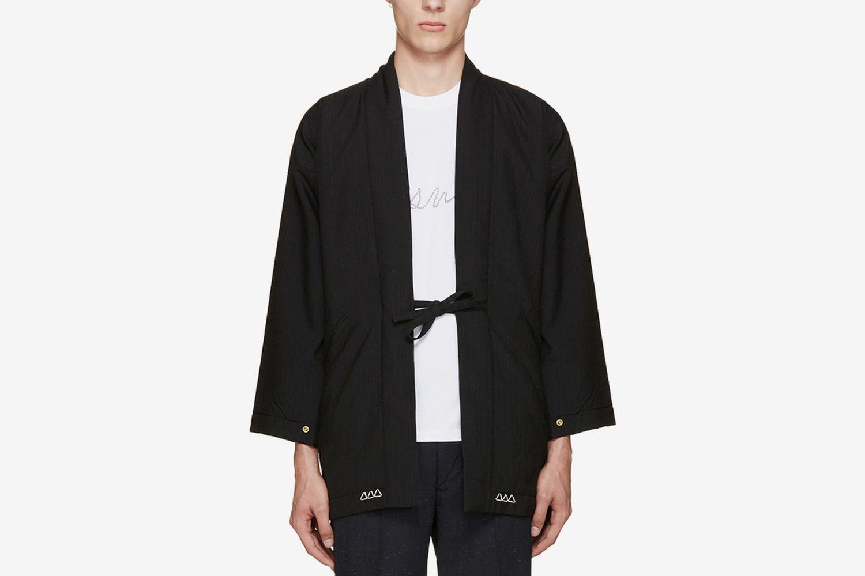 Wool Dotera Coat