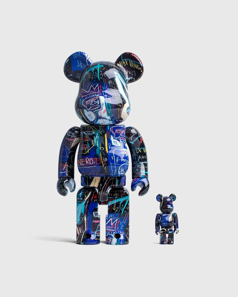 Medicom Be@rbrick – Jean-Michel Basquiat #7 Multi 100% and 400% Set