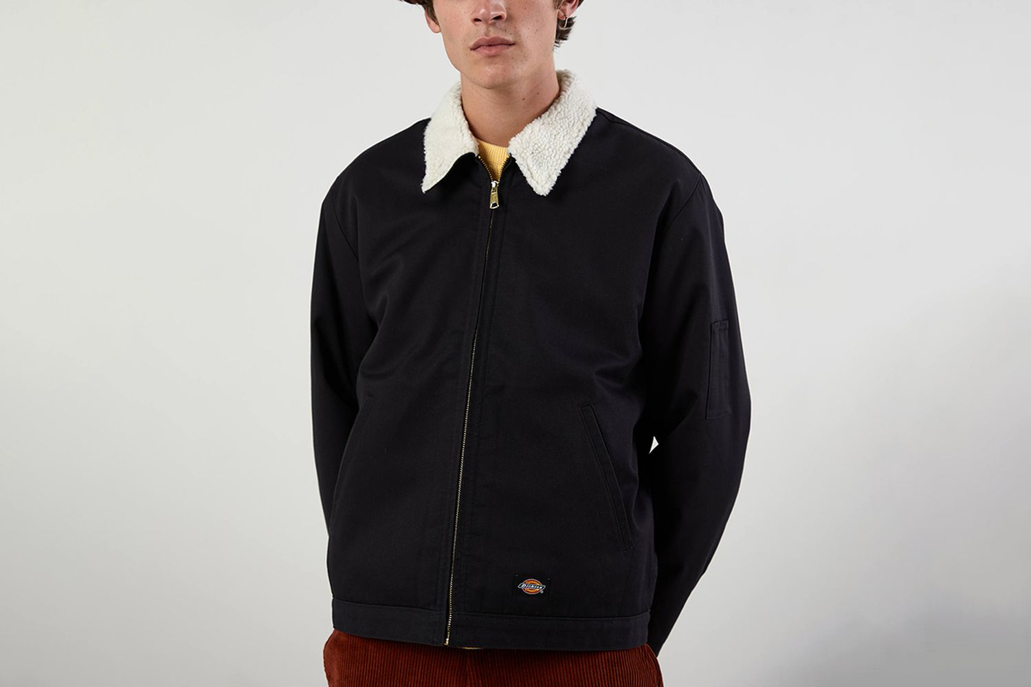UO Exclusive Eisenhower Sherpa Lined Work Jacket