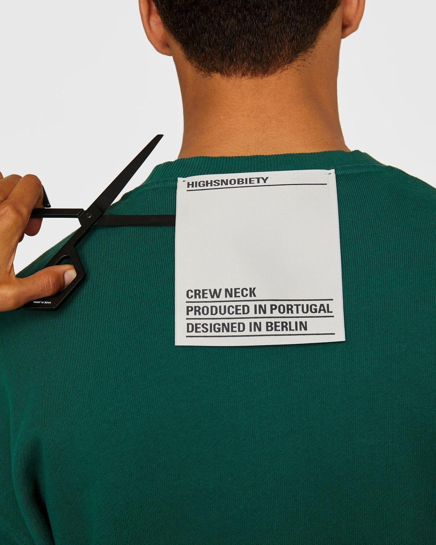 Highsnobiety Staples — Sweatshirt Green - Image 4