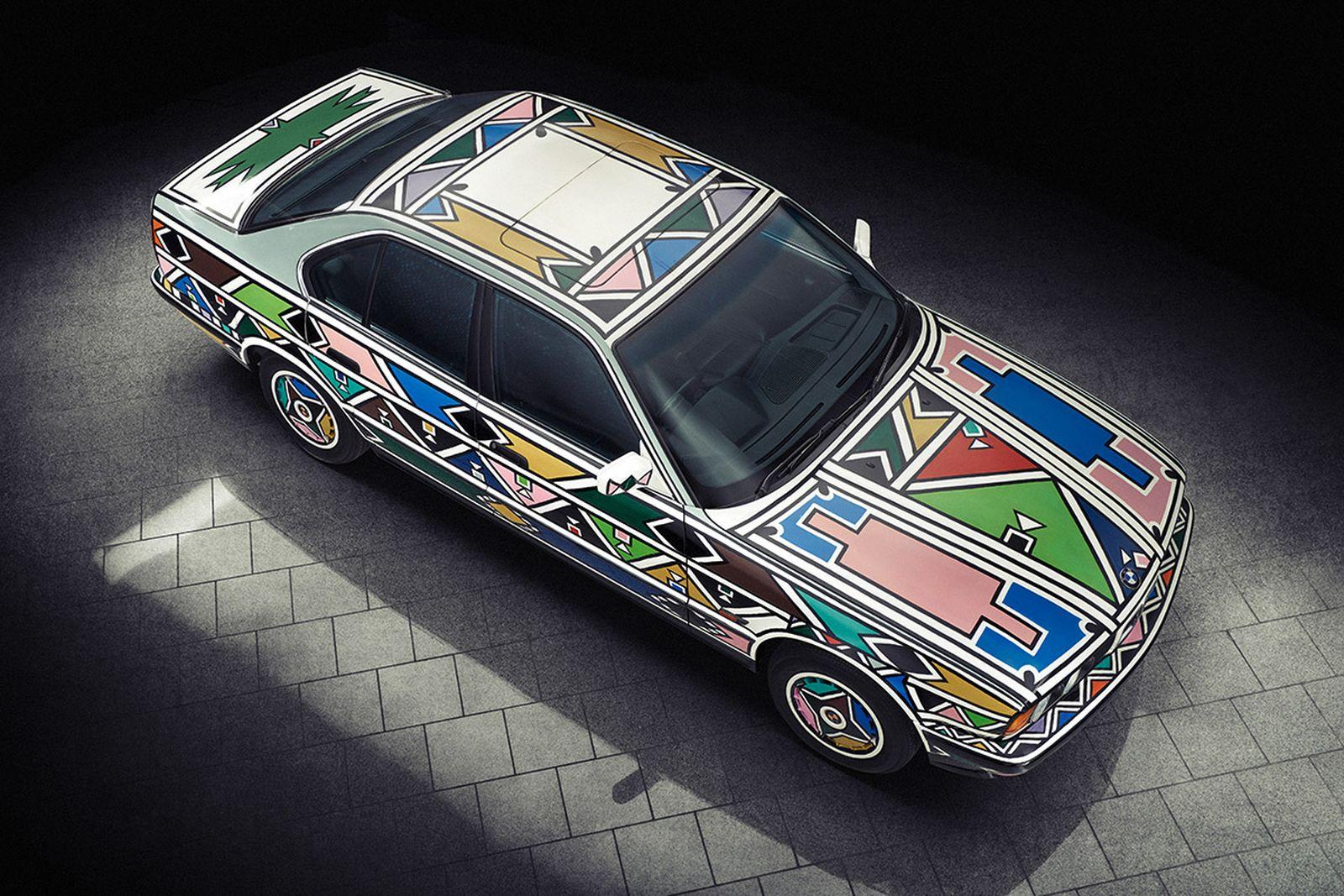 BMW Art Car 12, Esther Mahlangu, 1991