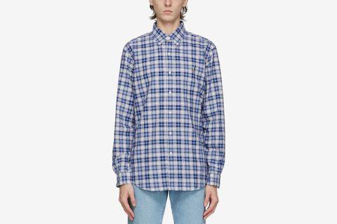 Oxford Plaid Shirt