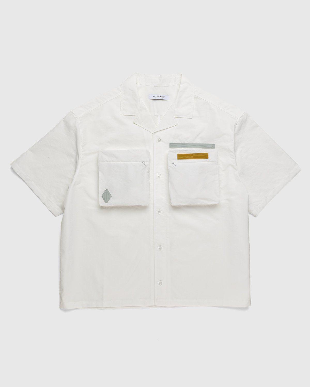 A-COLD-WALL* – Cuban Collar Shirt White - Image 1
