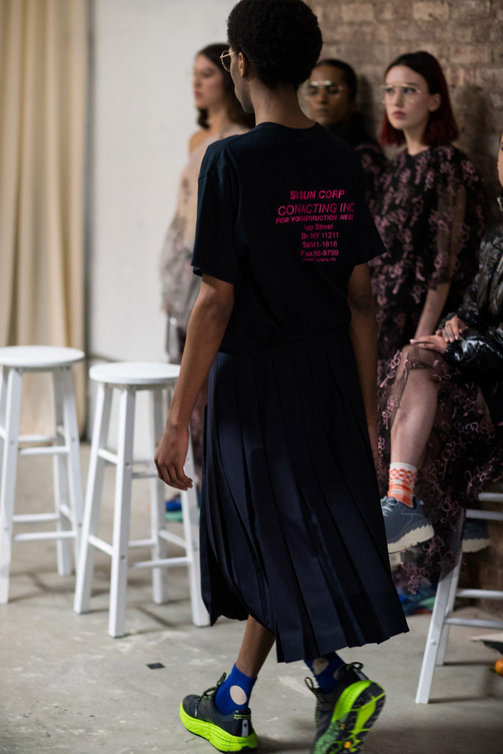 6sandy liang fw19 new york fasgion week Sadny Liang new york fashion week