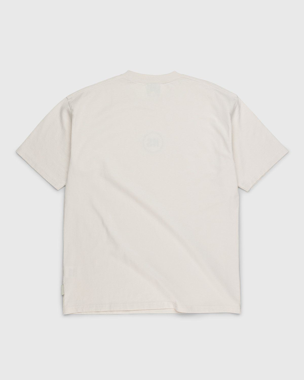 Highsnobiety – Logo T-Shirt Natural - Image 2