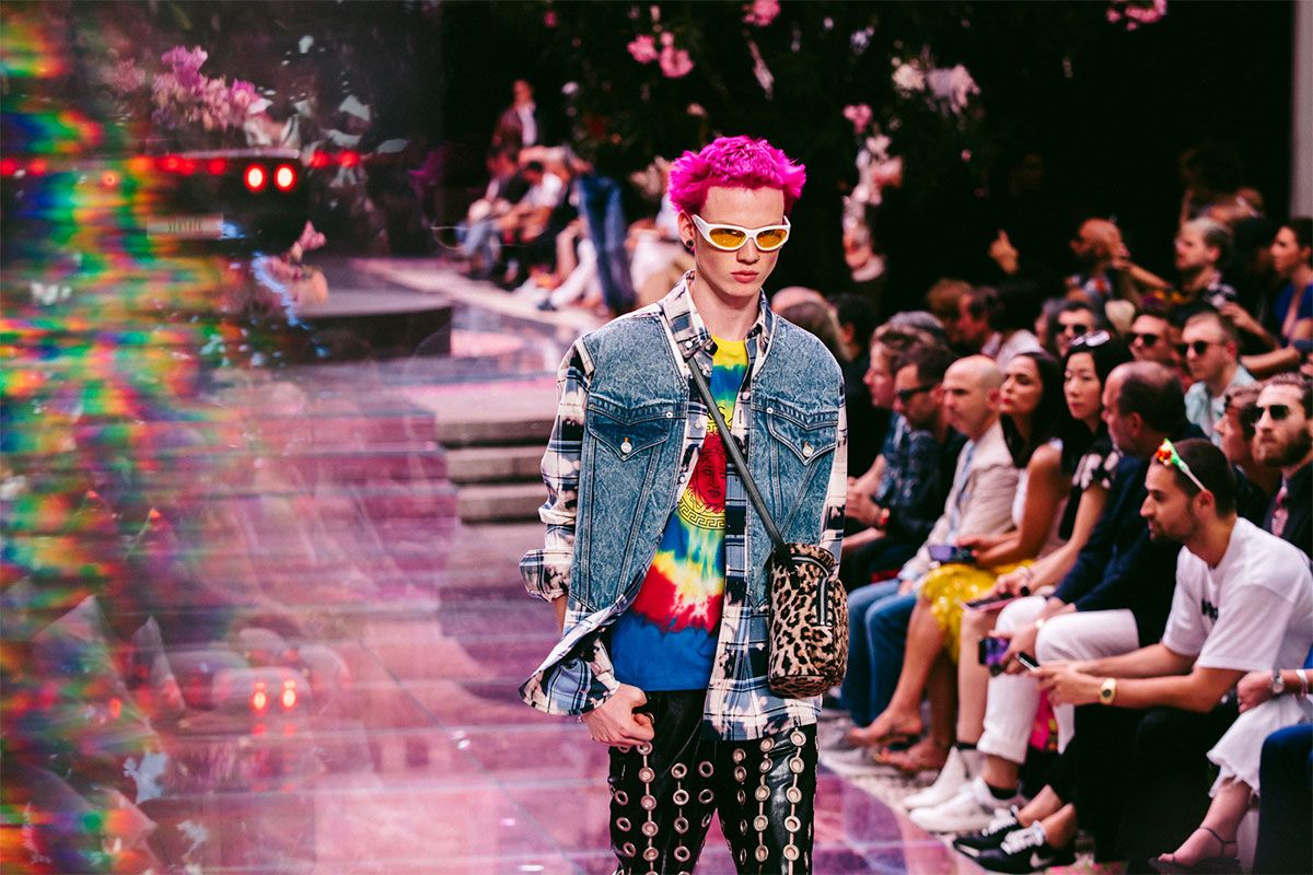 Versace Channels Stereotyped Masculinity for SS20