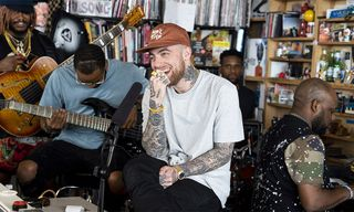 """Mac Miller Performs """"Small Worlds,"""" """"What's the Use?"""" and """"2009"""" on NPR's Tiny Desk Concert"""