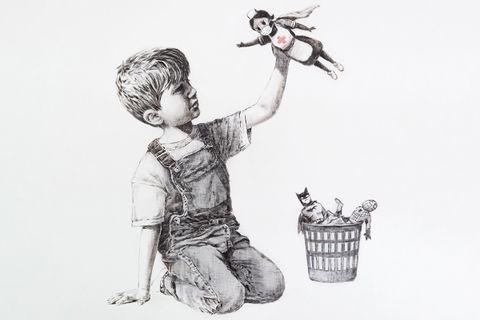 Banksy Game Changer artwork