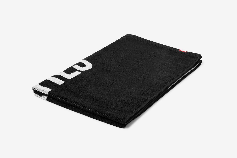 Logo-Print Cotton-Terry Towel