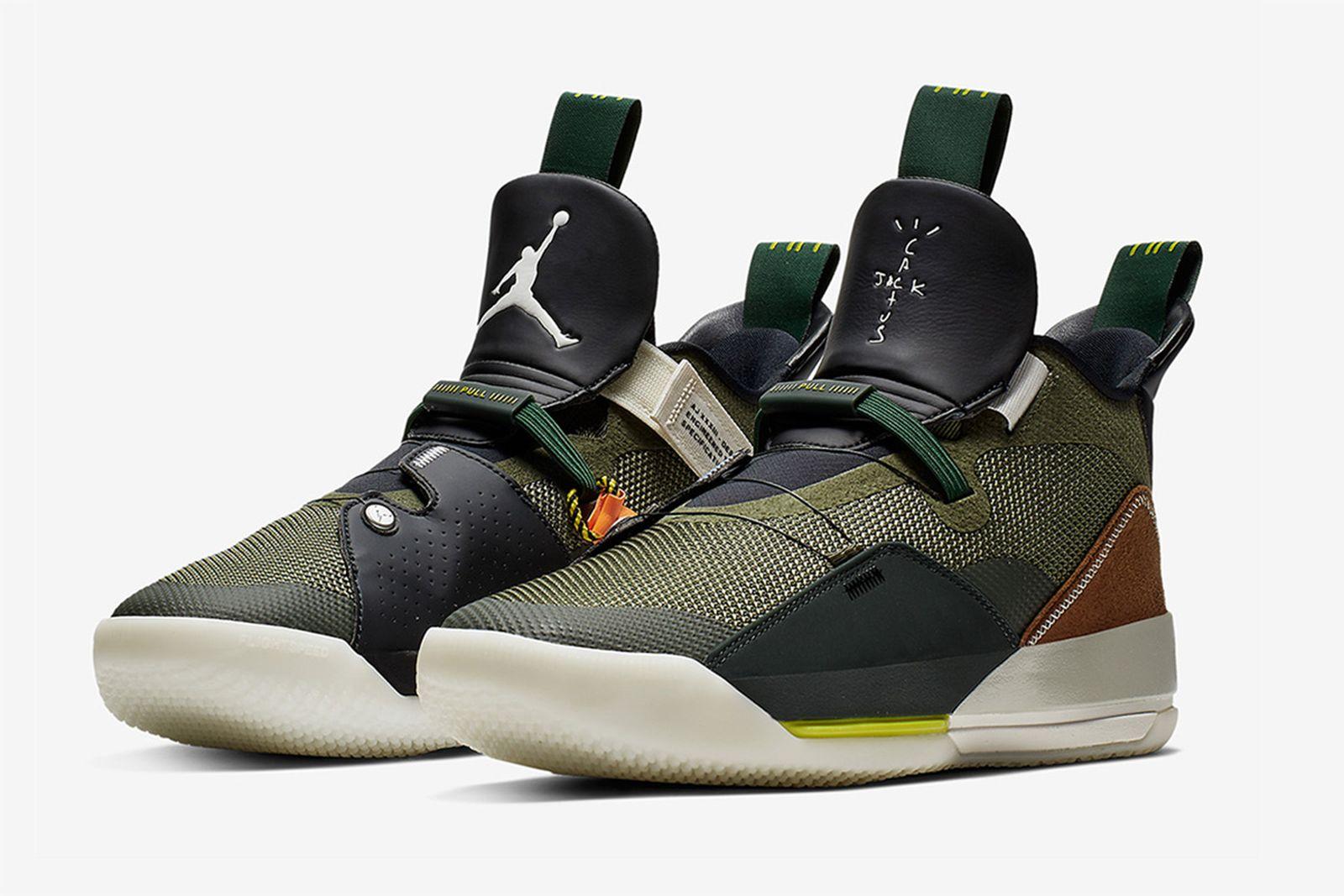 ravis scott sneaker collaboration history Air Jordan Nike Travis Scott