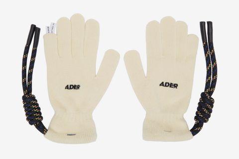 Off-White Crumple Gloves