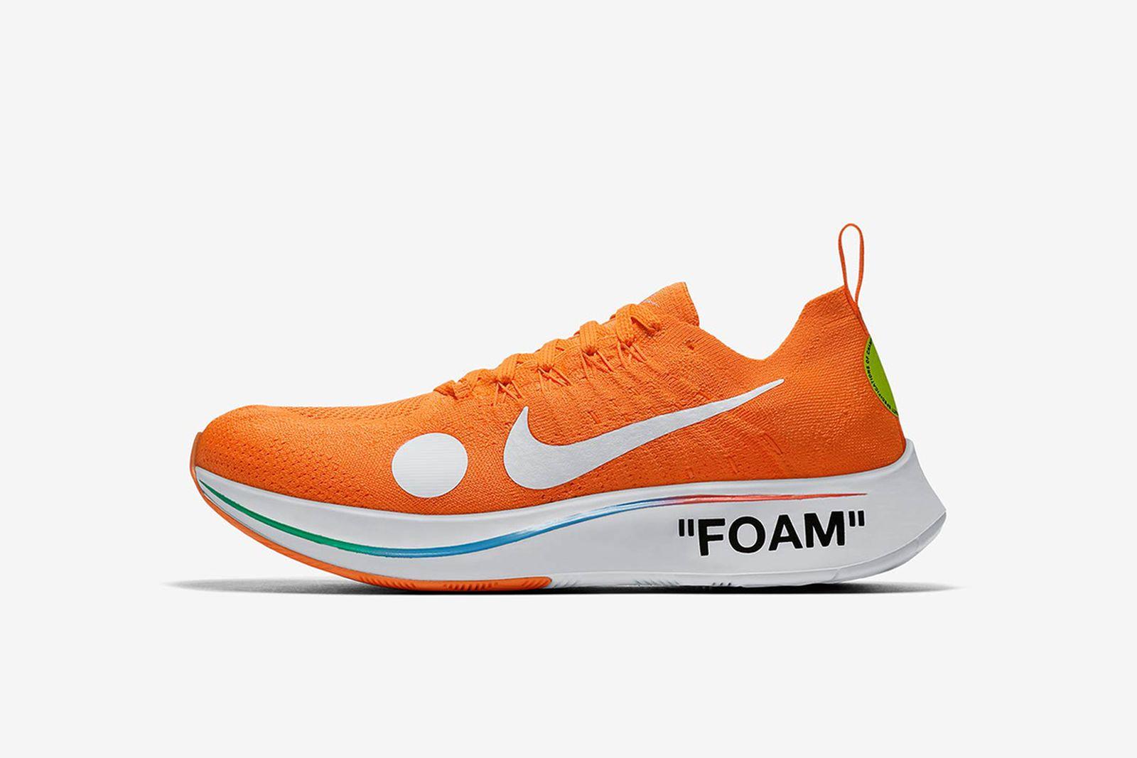 zoom fly mercurial orange GOAT Nike The Ten OFF-WHITE c/o Virgil Abloh