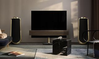 Bang & Olufsen Unveils Luxe 4K OLED TV & BeoLab 50 Speaker