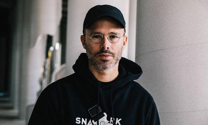 Daniel Arsham hat glasses hoodie