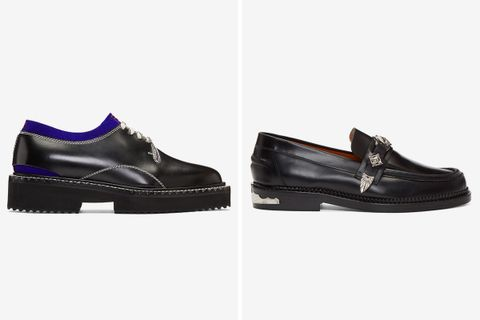 SSENSE smart shoes 001 Gucci Maison Margiela Rick Owens