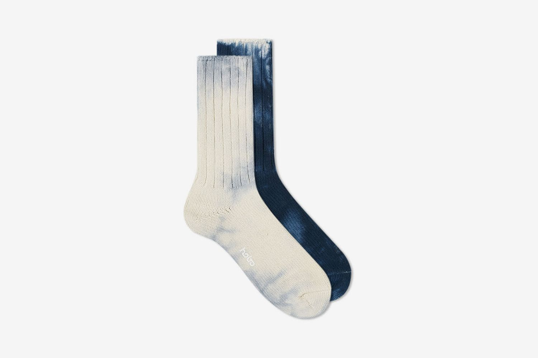 Tie Dye Cotton Crew Sock