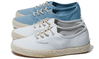 The Vans Classics Authentic Espadrille Is the Epitome of Casual Style