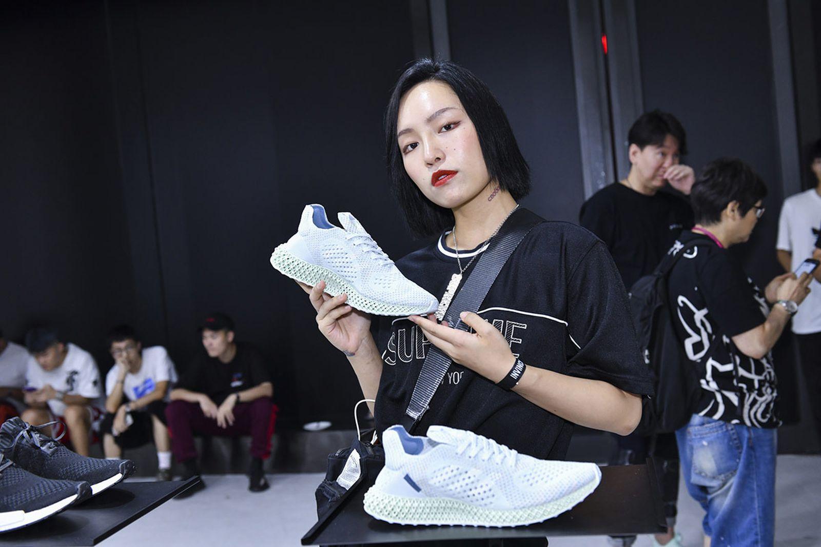 invincible adidas consortium 4d shanghai pop up